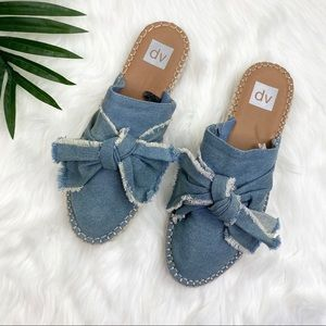 DV by Dolce Vita by Target Denim Bow Mules